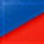 синий / красный