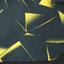 рюкзак  черно-желтый с орнаментом