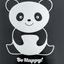 Панда. Be Happy
