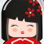 авторский дизайн «Kokeshi»