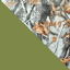 осенний лес  /  оливковый