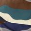 тёмно-синий арт камуфляж