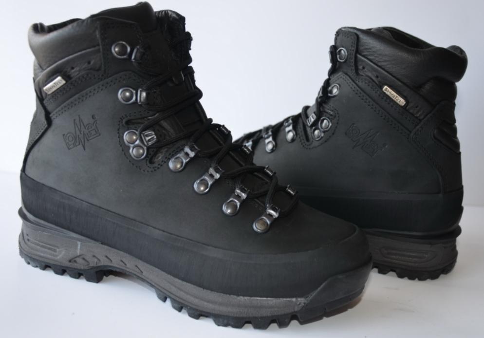 a466b29b Треккинговые ботинки LOMER «Pelmo» (чёрный, 43). Скидка 863 руб.