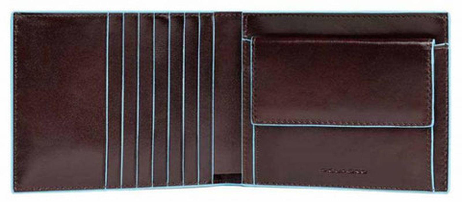 3d209c67ee70 Кошелек мужской Piquadro Blue Square, цвет коричневый, 12,5х9,5х2 см ...