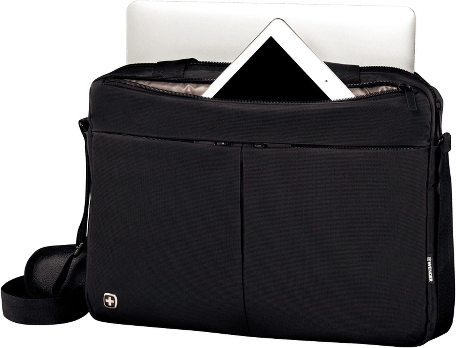1951887869e4 Портфель для ноутбука 14'' WENGER, 39x8x26 см, 5 л (черный). Скидка ...